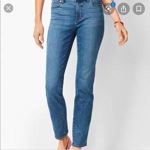 NEW Talbots 16W Slim Ankle Flawless 5 Pocket Jeans